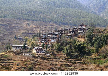 Countryside Houses, Bhutan