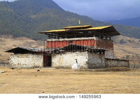 Monastery Wangdue Phodrang