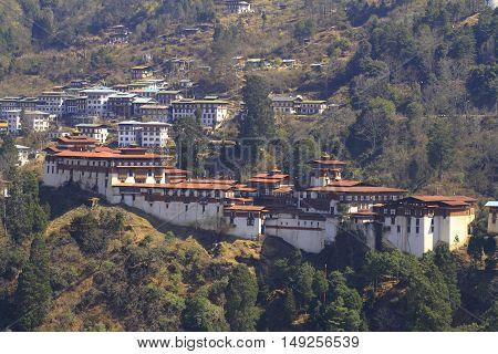 The Trongsa Dzong