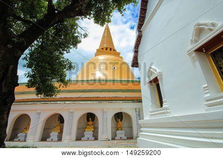 Phra Pathom Chedi (Big pagoda), Nakhon Pathom,Thailand