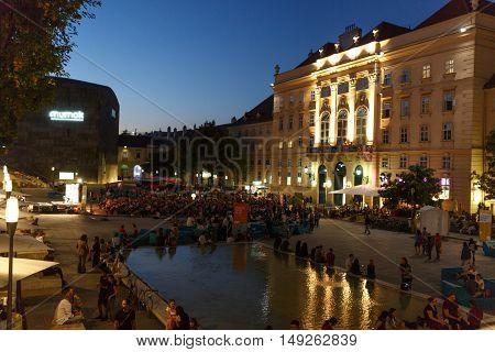 Vienna Austria August 25 2016 -