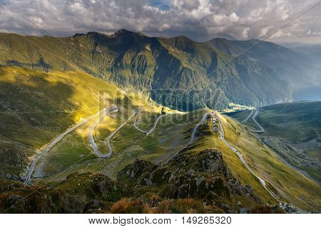 Transfagarasan Highway In Romania