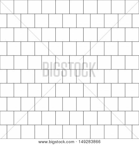 thin line seamless pattern brick tile, use for background, path, toilet wall, patio, wooden floor, ceramic tile, parquet floor, stack bond and texture