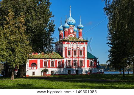 Church of Tsarevich Dimitry on the Blood in Uglich Kremlin, Russia