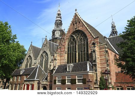 The Oude Kerk Church, Amsterdam