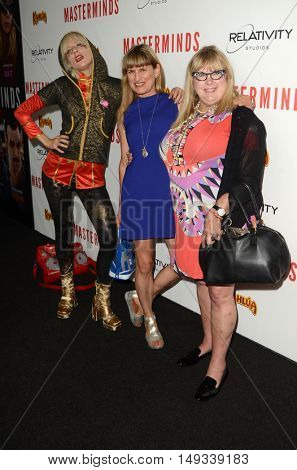 LOS ANGELES - SEP 26:  Kate Crash, Catherine Hardwicke, Colleen Camp at the
