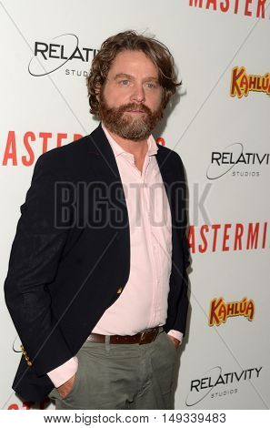 LOS ANGELES - SEP 26:  Zach Galifianakis at the