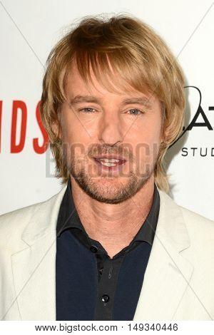 LOS ANGELES - SEP 26:  Owen Wilson at the
