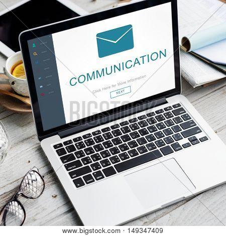 Communication Messaging Contact Envelope Online Concept