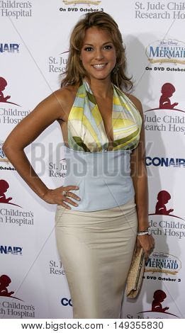 Eva La Rue at the 'Runway For Life' Benefiting St. Jude Children's Research Hospital held at the  Beverly Hilton in Beverly Hills, USA on September 15, 2006.