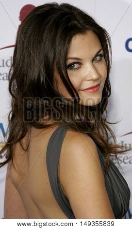 Ginnifer Goodwin at the 'Runway For Life' Benefiting St. Jude Children's Research Hospital held at the  Beverly Hilton in Beverly Hills, USA on September 15, 2006.