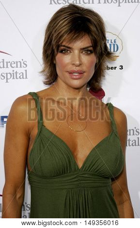 Lisa Rinna at the 'Runway For Life' Benefiting St. Jude Children's Research Hospital held at the  Beverly Hilton in Beverly Hills, USA on September 15, 2006.