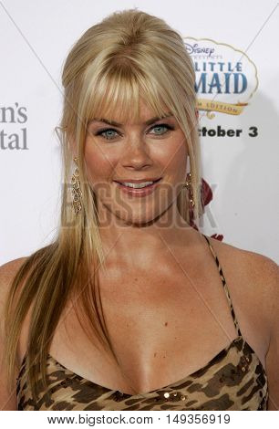 Alison Sweeney at the 'Runway For Life' Benefiting St. Jude Children's Research Hospital held at the  Beverly Hilton in Beverly Hills, USA on September 15, 2006.