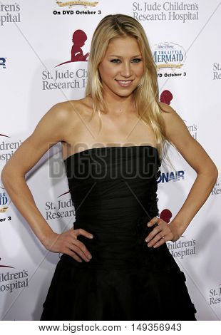 Anna Kournikova at the 'Runway For Life' Benefiting St. Jude Children's Research Hospital held at the  Beverly Hilton in Beverly Hills, USA on September 15, 2006.