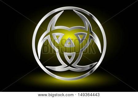Three crescent , The horn of Odin , three crescent symbol,