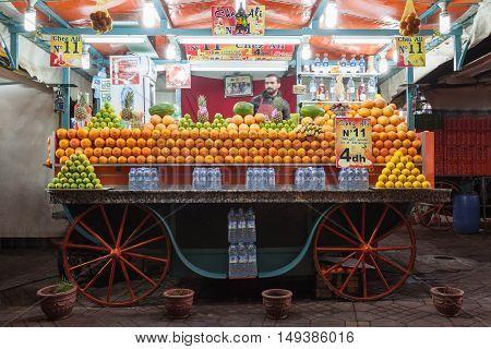 Orange Juice Stall