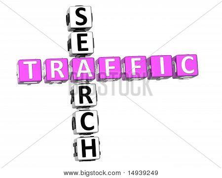 Traffic Search Crossword