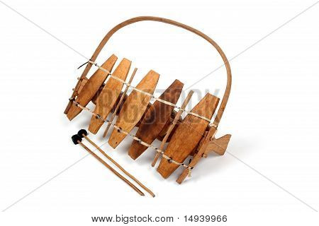 Traditional African Xylophone