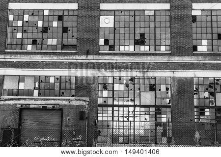 Abandoned Industrial Factory - Urban Desolation, Worn, Broken and Forgotten III