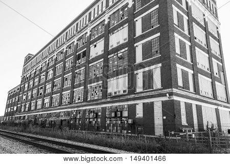 Abandoned Industrial Factory - Urban Desolation, Worn, Broken and Forgotten V