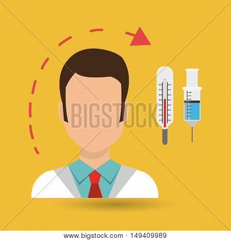 doctor heath service vector illustration eps 10