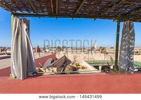 Marrakesh Aerial View