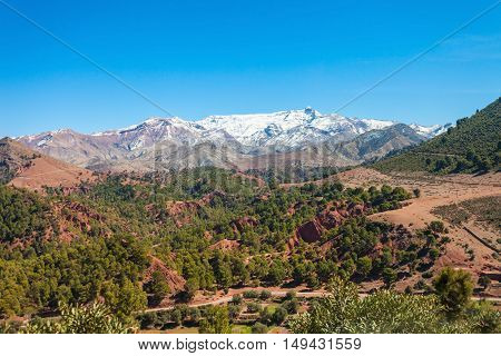 High Atlas Mountains