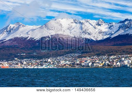 Ushuaia Aerial View, Argentina