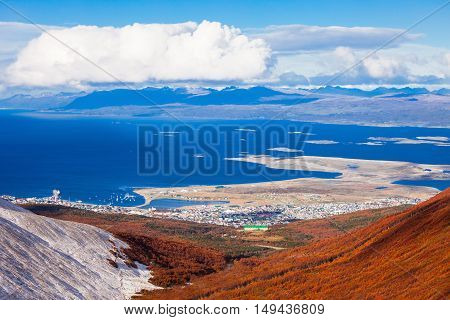 Ushuaia From Martial Glacier