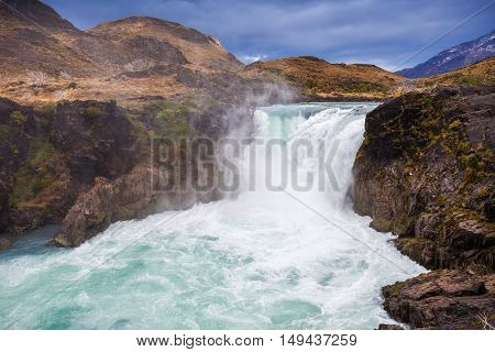 The Salto Grande Waterfall