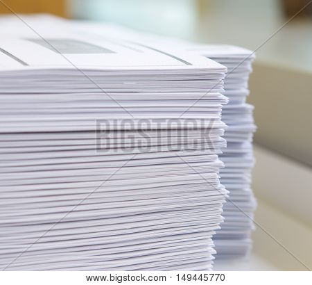 Stack Of Handout