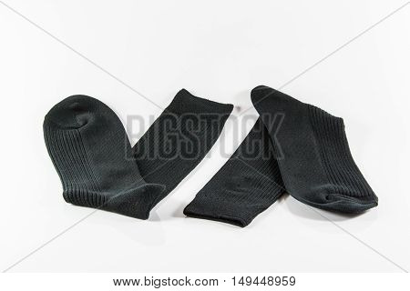 Pair of socks. Isolated on a white background