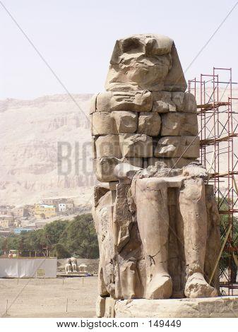 Memnon Colossi Statue