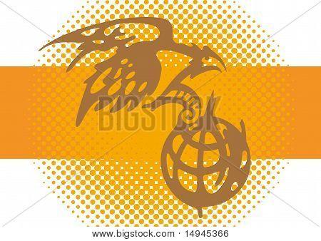 Eagle And Earth Globe