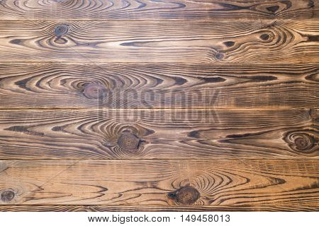 Brown aged natural wood texture close look