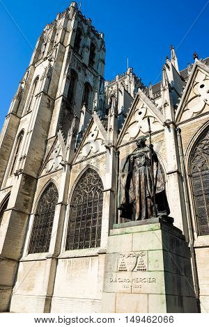 The Cathedral of St. Michael and St. Gudula is a Roman Catholic church in Brussels Belgium.