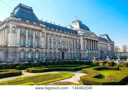 Royal Palace of Brussels is the official palace of the King and Queen of the Belgians in the centre of the nation's capital Brussels.
