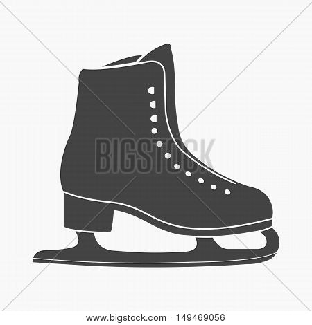 Skates icon cartoon. Single sport icon from the big fitness, healthy, workout collection.