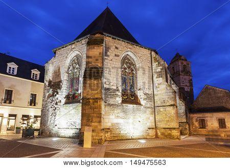 St. Florentin Church in Amboise. Amboise Pays de la Loire France