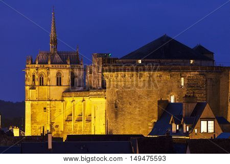 Chapel of Saint-Hubert in Amboise. Amboise Pays de la Loire France