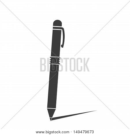 Pen Icon Vector. Flat Icon Pen. Flat Vector Illustration For Web Banner, Web And Mobile. Vector Pen