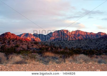 Sunrise At Red Rock