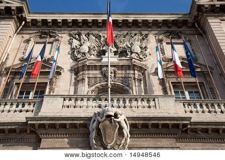 Hotel de Ville de Marseille.