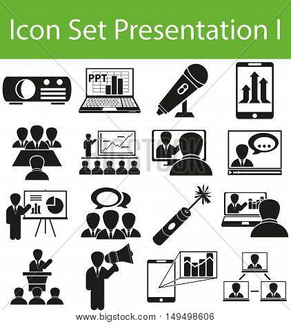 Icon Set Presentation I