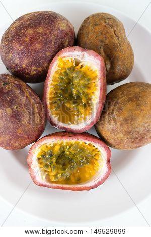 Fresh Splited Passion Fruits