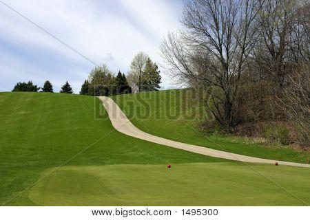 Steep Hill Cart Path