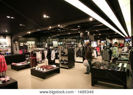 Sport-Shop-Interieur