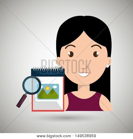 woman images album search vector illustration esp 10