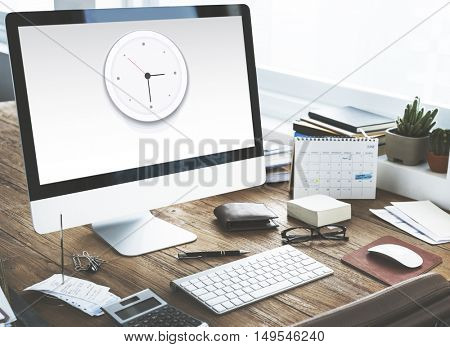 Clock Watch Time Moment Concept