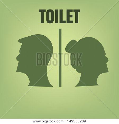 toilet Icon. toilet Icon Vector. toilet Icon Art.